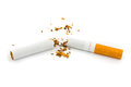 Broken Cigarette Stock Image - 43352921