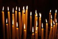 Candles In The Church Royalty Free Stock Photo - 43372945