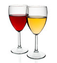 Two Glasses Royalty Free Stock Images - 43376299