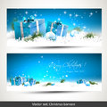 Christmas Banners Royalty Free Stock Photography - 43397807
