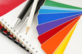 The Color Card. Royalty Free Stock Image - 4346886