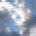 Triangle Cloud Background Royalty Free Stock Photography - 43405777