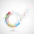 Abstract Color Technology Background Computer/technology Theme Royalty Free Stock Images - 43424949