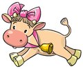 Baby Cow Stock Image - 43438101