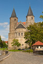 Two Romanesque Towers Royalty Free Stock Image - 43439196