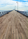 Shorncliffe Pier In The Sunshine Royalty Free Stock Photography - 43446437