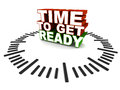 Time To Get Ready Royalty Free Stock Image - 43460716