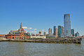 Old And New Building Nearby Liberty State Park Jersey City Royalty Free Stock Photography - 43463427