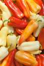 Red And Yellow Paprika Background Royalty Free Stock Image - 43464496