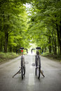 Two Bicycles Royalty Free Stock Photo - 43492375
