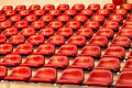 Red Stadium Chair , Bangkok In Thailand Stock Photography - 43499122