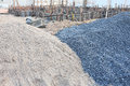 Piles Gravel And Sand Royalty Free Stock Photo - 43499825