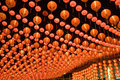 Red Chinese Lanterns Stock Images - 4359934