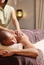 Handsome Man In Spa Salon Royalty Free Stock Images - 43503189