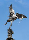 Eros Statue At Piccadilly Circus, London Royalty Free Stock Photos - 43504518