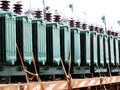 Electric Transformers Royalty Free Stock Image - 43518596