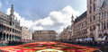 Flower Carpet In Brussels, Belgium Royalty Free Stock Photography - 43519767