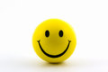 Happy Smiley Faces Yellow Ball. Stock Photography - 43528172