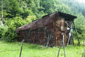 Old Tin Shed Royalty Free Stock Photo - 43535355