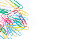 Colorful Paper Clip Stock Image - 43537561