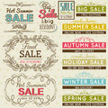 Set Of Special Sale Offer Labels And Banners Stock Photo - 43544860