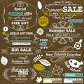 Set Of Special Sale Offer Labels And Banners Royalty Free Stock Photos - 43544868