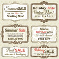 Set Of Special Sale Offer Labels And Banners Stock Photos - 43544873
