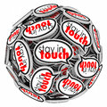 Stay In Touch Speech Bubbles Communication Leaving Moving Away Royalty Free Stock Photography - 43550427