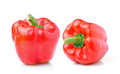 Sweet Red Pepper Isolated On White Background Stock Photo - 43559490