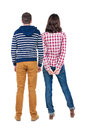 Back View Of Young Couple Royalty Free Stock Photos - 43573208
