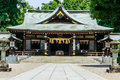 Japanese Shrine Stock Image - 43592541