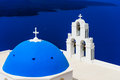 Blue Dome Church Stock Image - 43596031