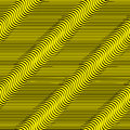 Wavy Lines Seamless Pattern. Royalty Free Stock Images - 43599899