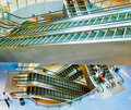Escalators Royalty Free Stock Photos - 4361408