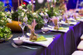 Wedding Table Stock Images - 43602254