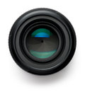 Camera Lens On White Stock Photography - 43603092