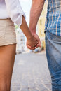Couple Holding Hands. Stock Photos - 43605093
