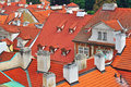Old Prague Roofs Stock Photo - 43620830