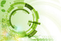 Abstract Green Point Hexagon Ecology Business And Technology Bac Royalty Free Stock Images - 43621949