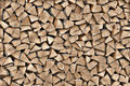 Texture Of Wood On The Woodpile Stock Image - 43633701
