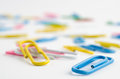 Colorful Paper Clips Royalty Free Stock Image - 43633826