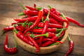 Red Chilli Peppers Stock Images - 43638354