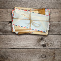 Bunch Of Old Envelopes Stock Photos - 43641563