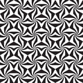 Abstract Black And White Seamless Pattern Stock Photography - 43641652