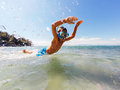 Jumping For Joy Stock Photography - 43647382