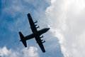 C-130 Hercules In The Sky Royalty Free Stock Photo - 43648655