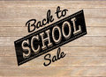 Composite Image Of Back To School Sale Message Stock Photos - 43672513