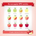 Apple Varieties Royalty Free Stock Images - 43681059