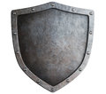 Metal Shield Isolated Royalty Free Stock Image - 43699556