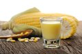 Corn Juice Royalty Free Stock Photos - 43729368